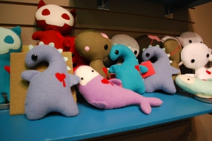 Plushies, by Izzy Lawlor
