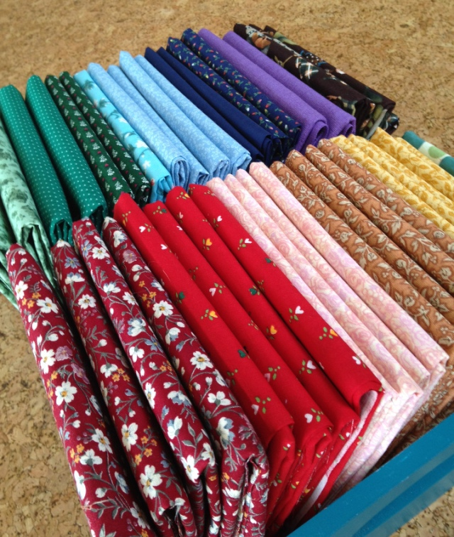 New Vintage Fat Quarters