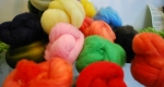 Felting or spinning roving