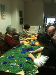 Group Seaming Party