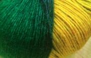 self striping superfine wool and silk
