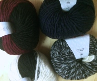 Katia created the best self-striping- easy to make one hat-wool